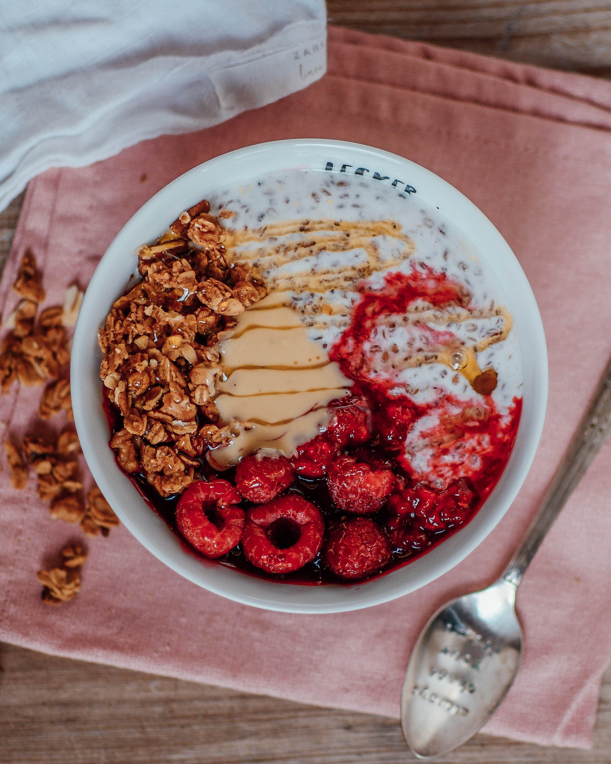 Ballaststoffreiches Frühstück