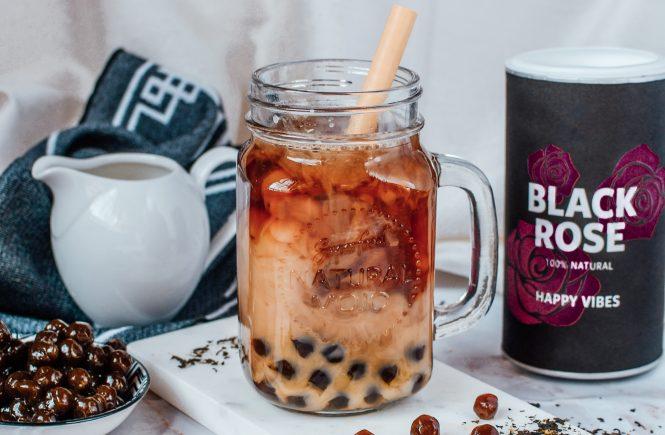 How to make bubble tea - boba pearl recipe