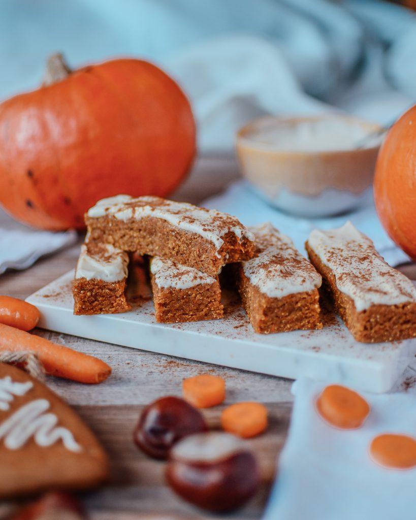 Fitness Karottenkuchen Riegel Ohne Mehl Gesund Schnell Und