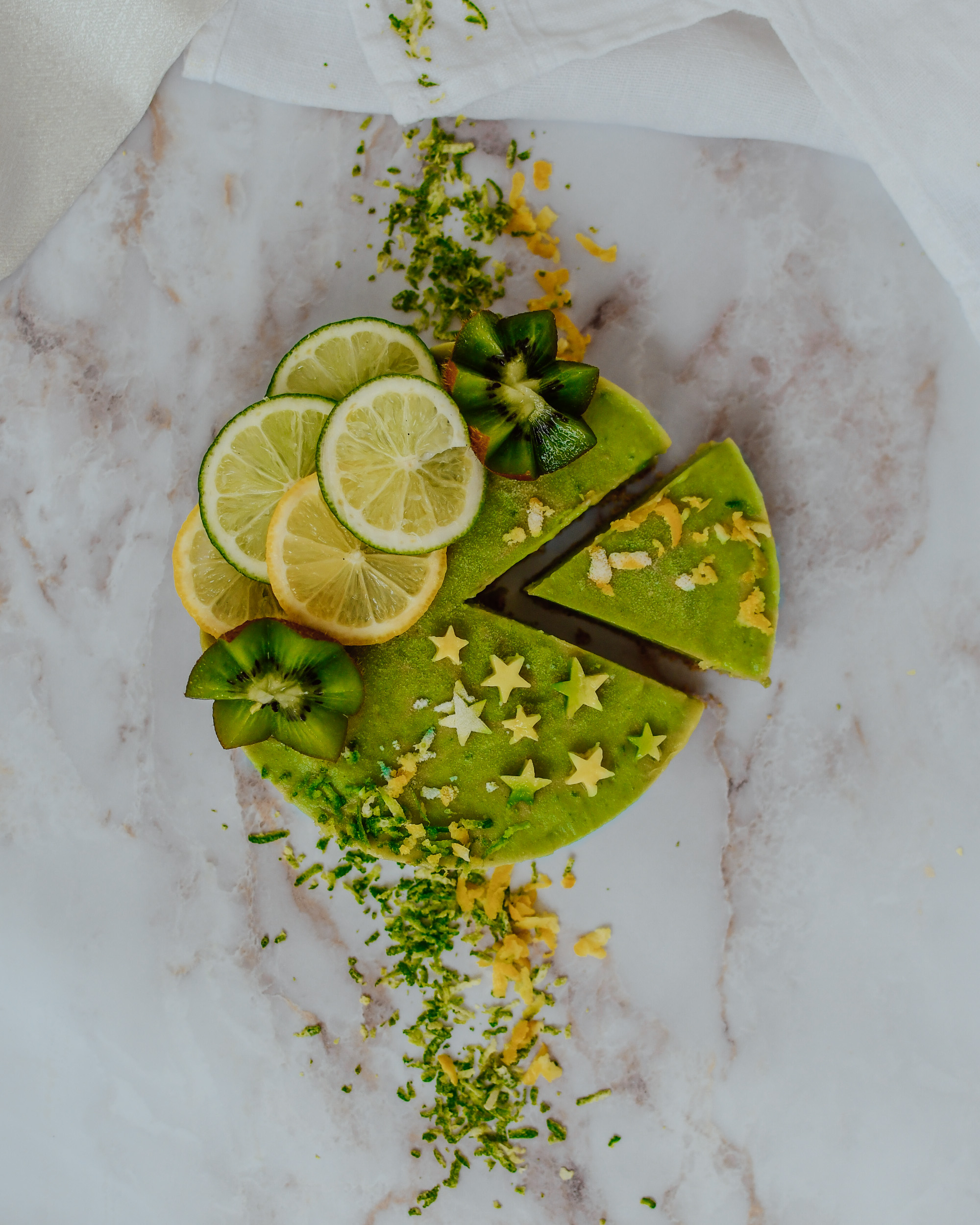 Raw Vegan Avocado Cheesecake