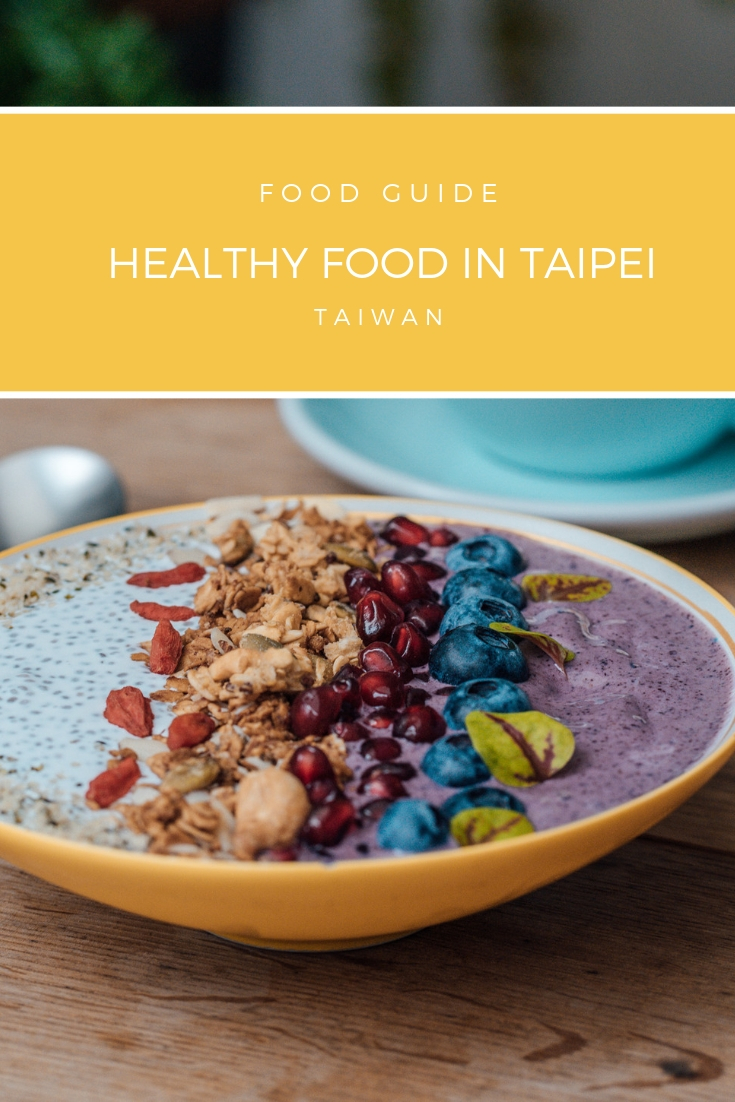 healthy food in Taipei
