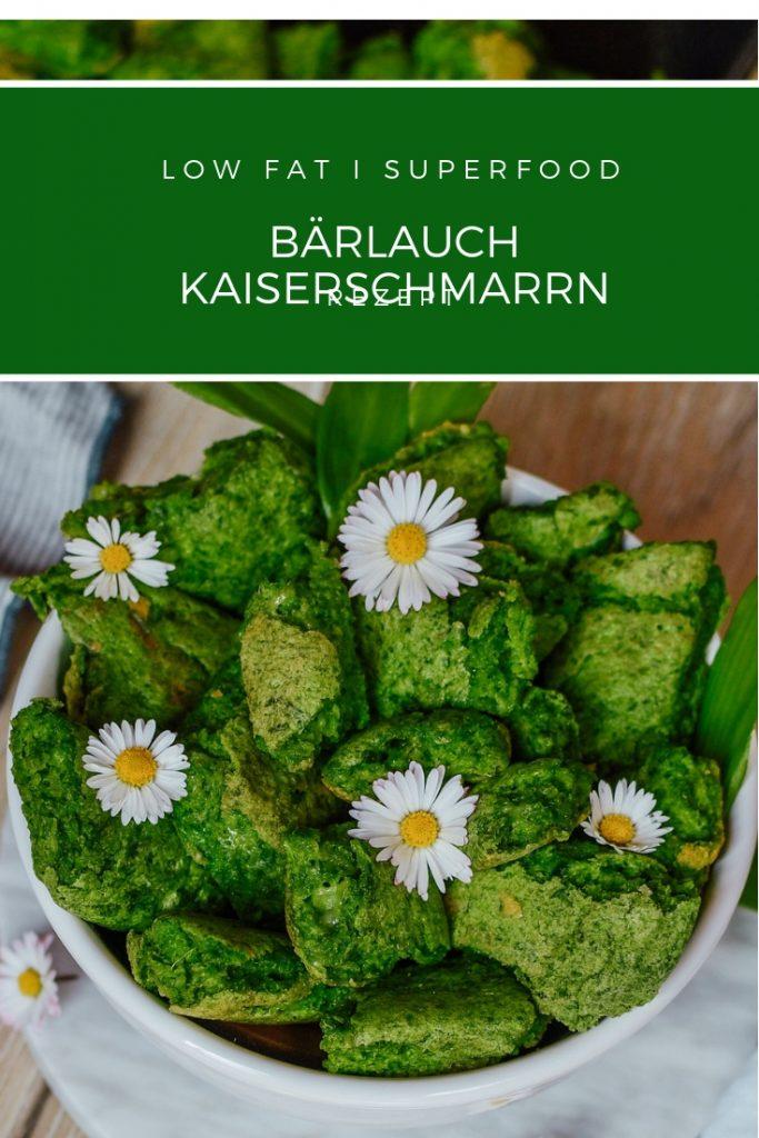 Rezept mit Bärlauch - pikanter Kaiserschmarren