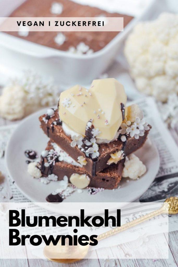 Blumenkohl Brownies