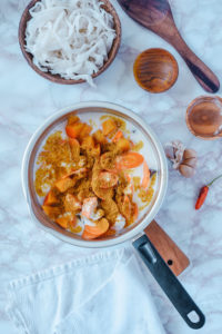 Chicken Curry Suppe low carb