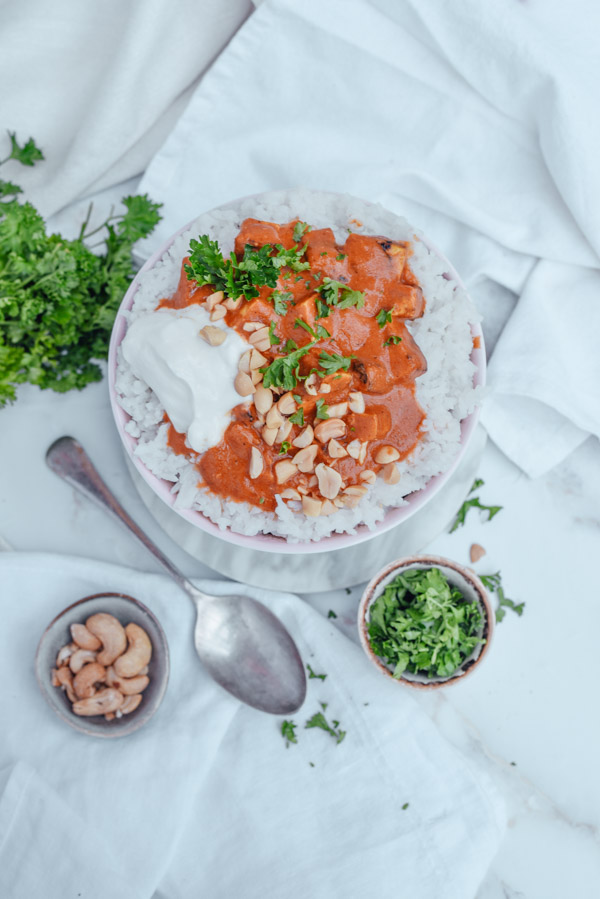 Tofu Tikka Masala vegetarisch