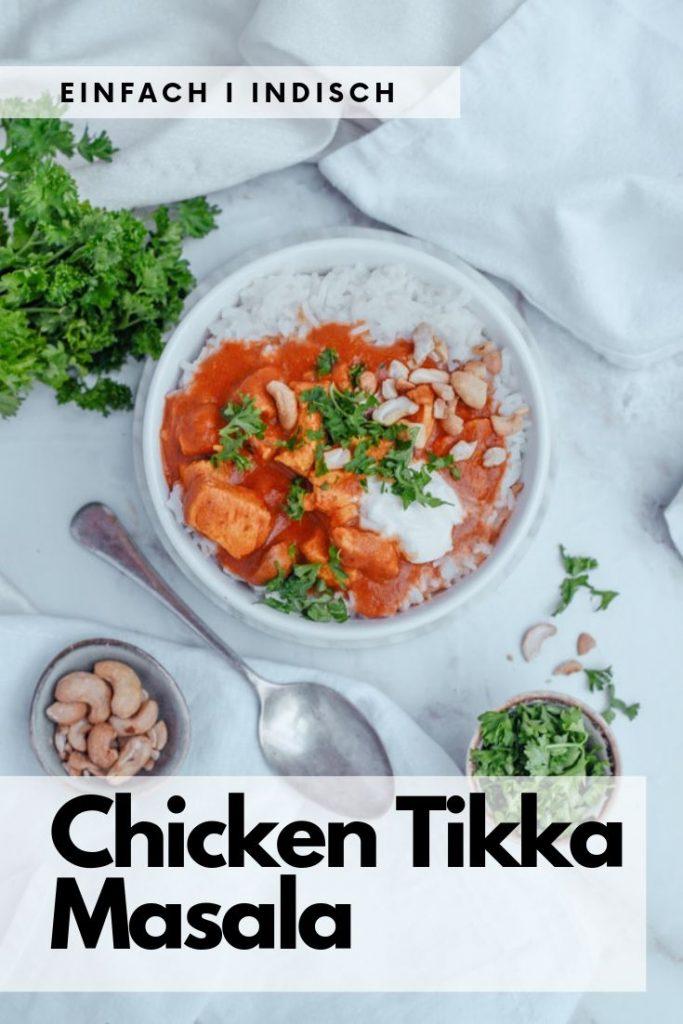 Chicken Tikka Masala indisch