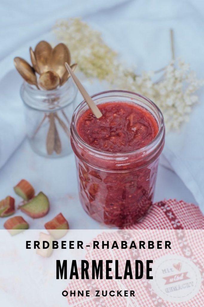Erdbeer-RhababerMarmelade