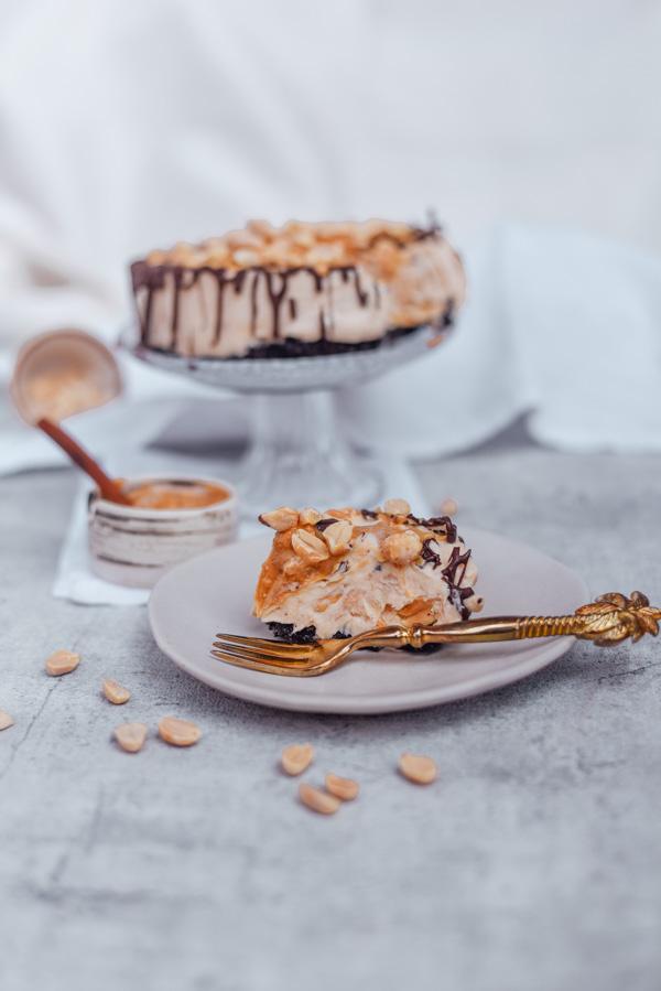 Erdnussbutter Cheesecake