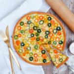 Gemüse quiche