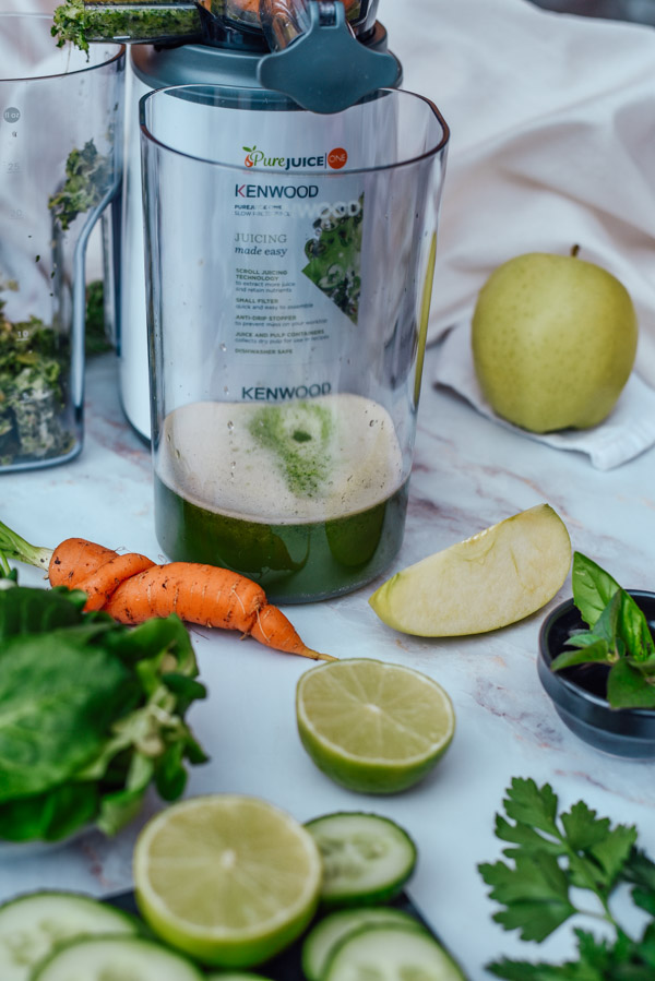 Grüner Smoothie Detox Shot