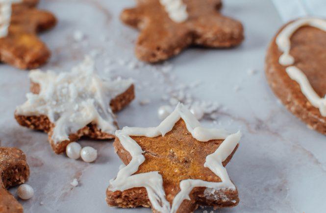 Kekse ohne Zucker - gesunder Lebkuchen