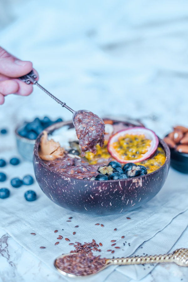 Keto Frühstück ballaststoffreich mit Flohsamen-4