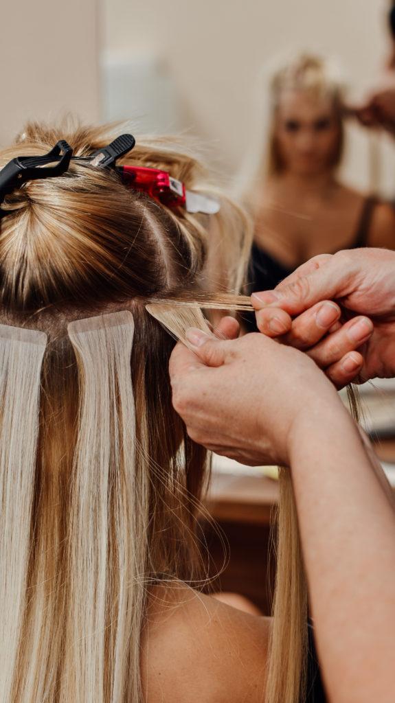 Haarverlängerung bei KLIPP