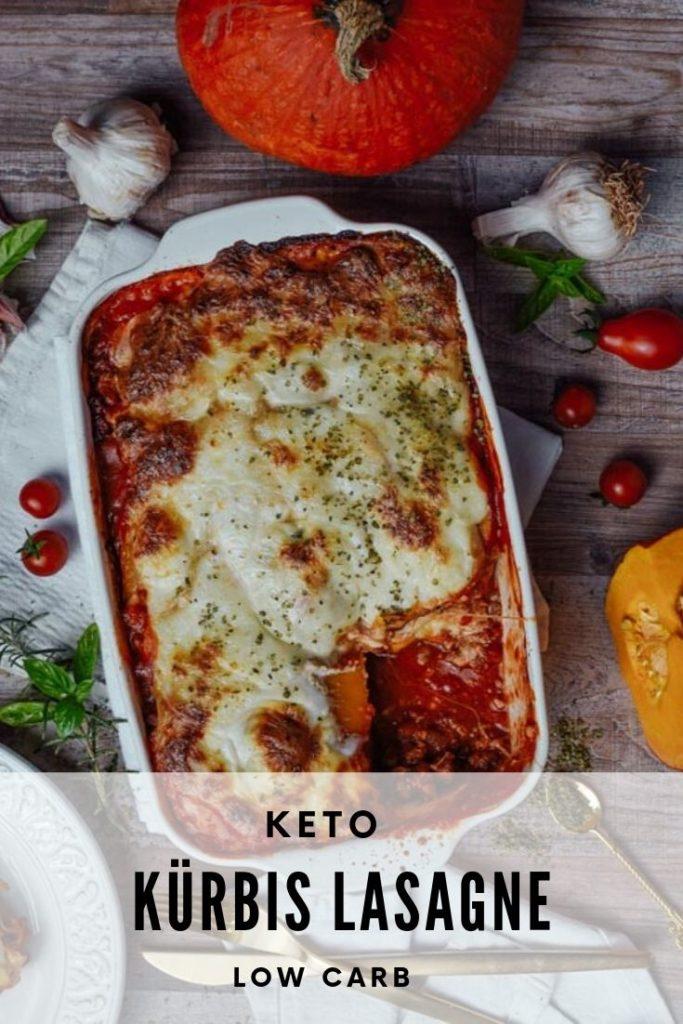 Kürbis Lasagne keto