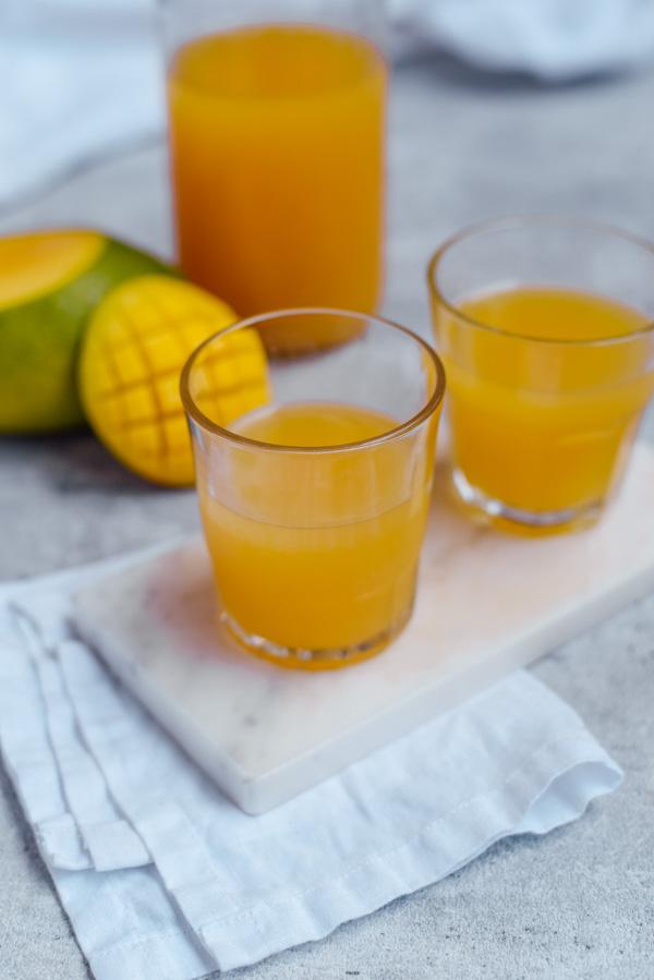 Mango Kombucha selber machen