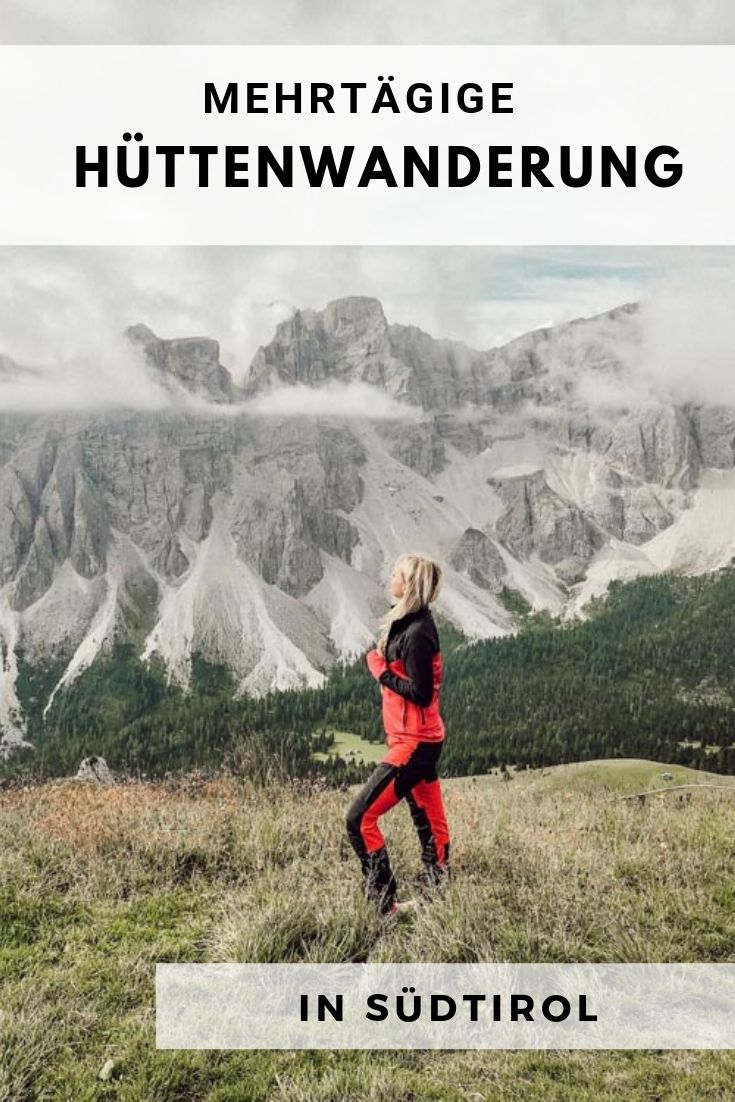 Mehrtägige Hüttenwanderung in Südtirol