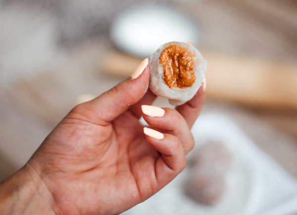 Mochi Rezept - einfach selber machen mit Erdnussbutter