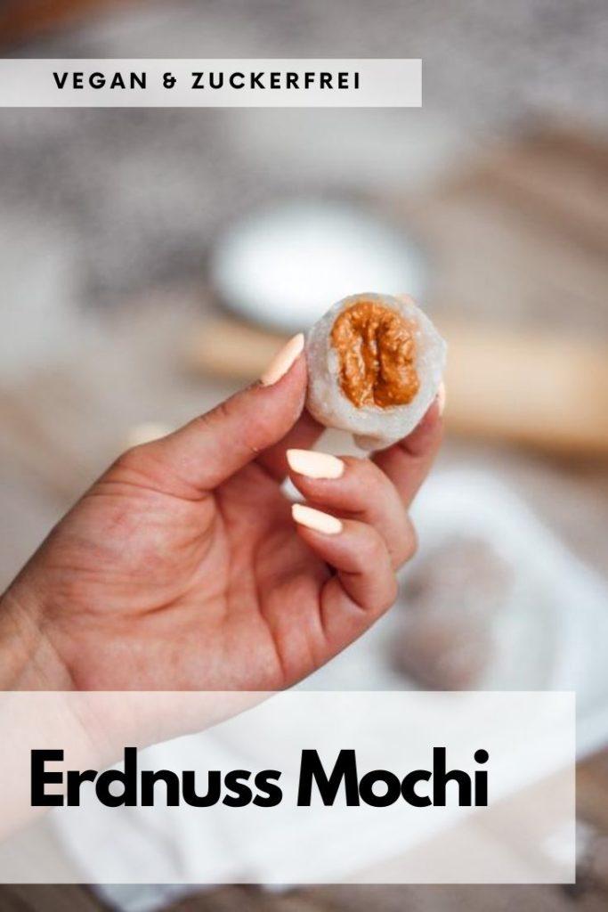 Mochi Rezept mit Erdnuss