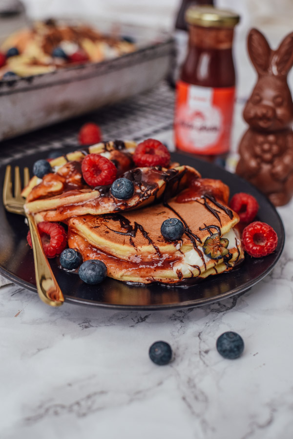 Süßer Frühstücksauflauf