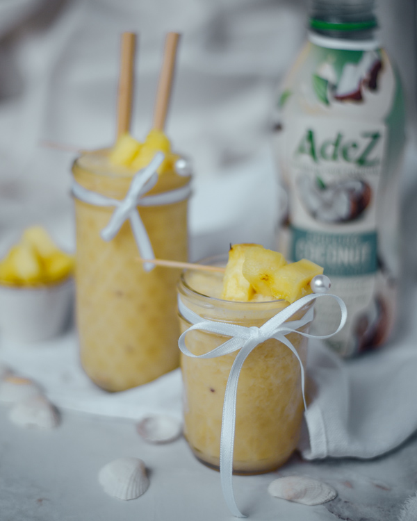 Zuckerfreier Pina Colada Smoothie