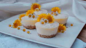 Pineapple mousse cups healthy