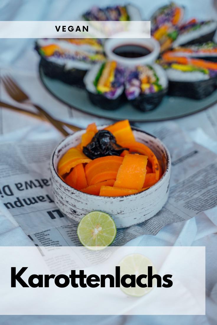 Veganer Karottenlachs