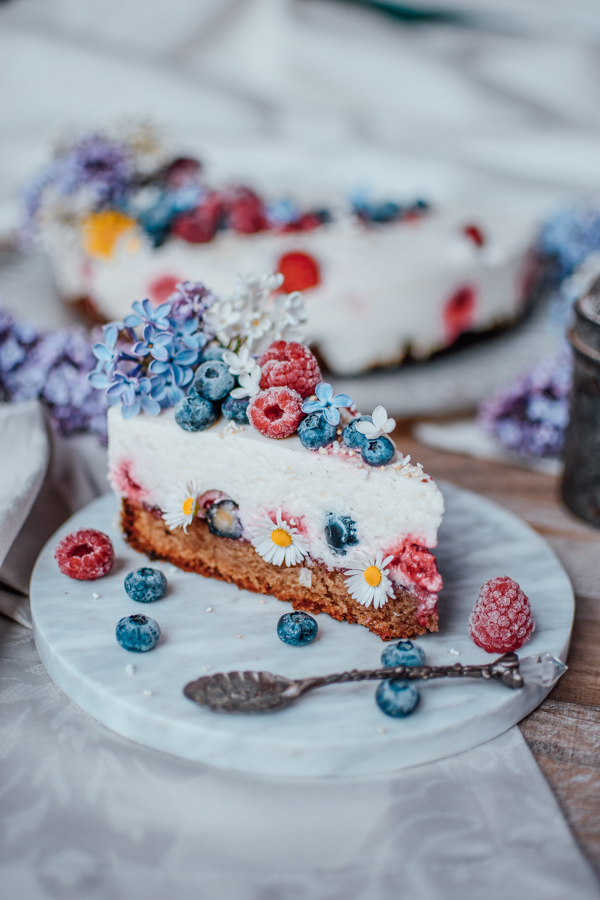 Protein Joghurt Torte zum Muttertag-3