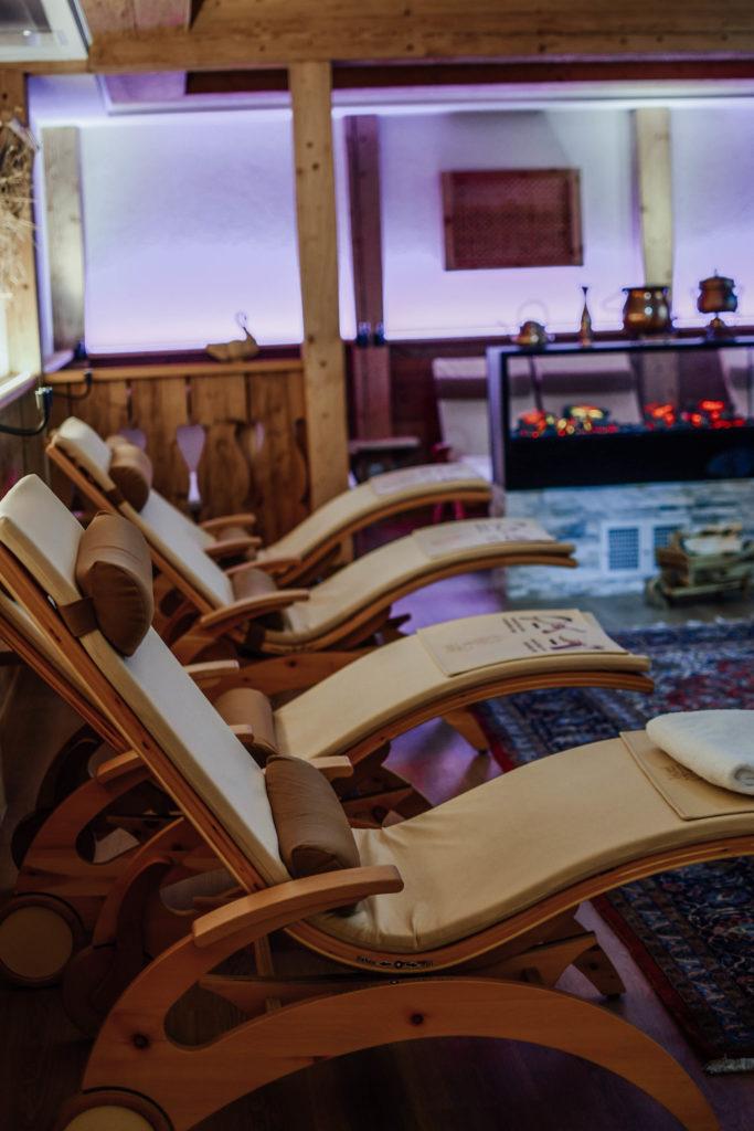 Saunabereich Almdorf Spa