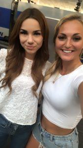 Stefanie Goldmarie und Carina Berry