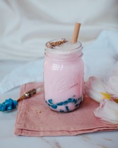 Tapioca Pearl milk tea boba