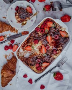 The best french toast casserole with cream cheese_