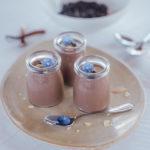 Veganes mousse au chocolat mit Seidentofu
