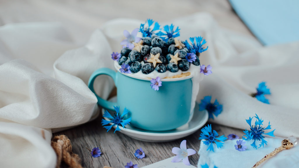 Blueberry Cake In A Mug Tasty