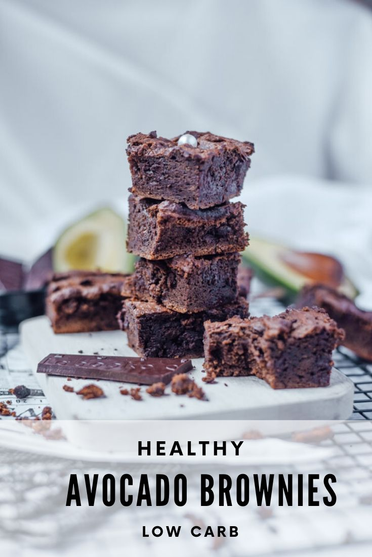 healthy chocolate brownies low carb