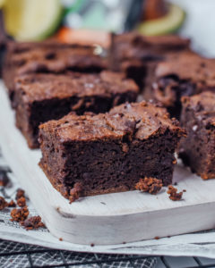 healthy avocado brownies keto