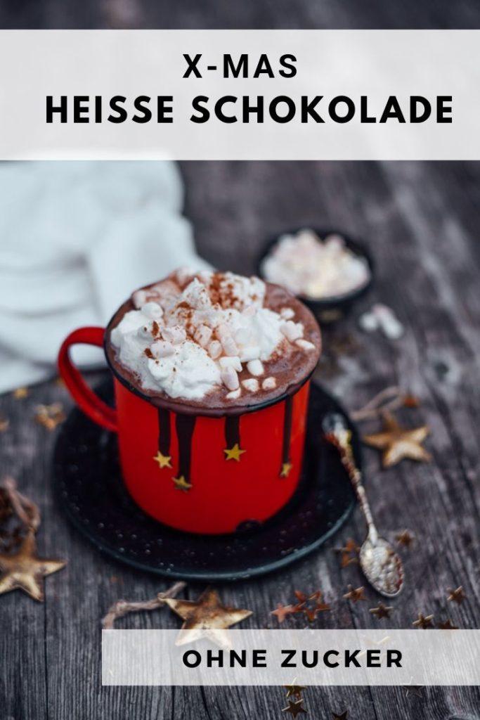 heiße Schokolade ohne Zucker