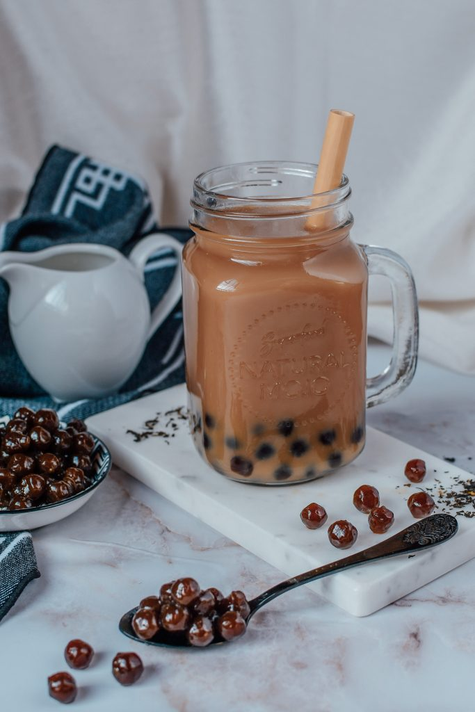 making bubble tea at home from scratch