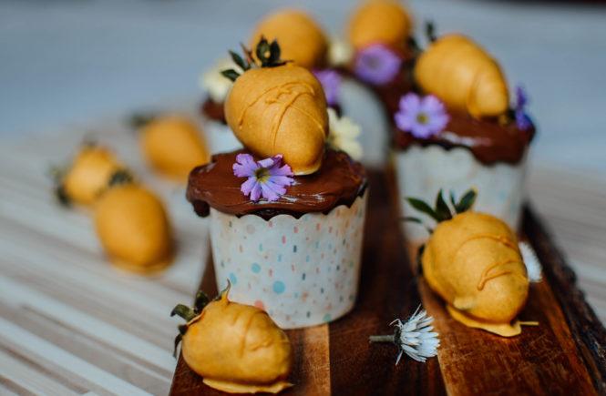 kurkuma-easter-cupcake