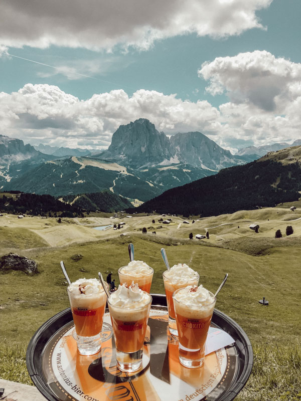 mehrtägige Hüttenwanderung in Südtirol Seceda