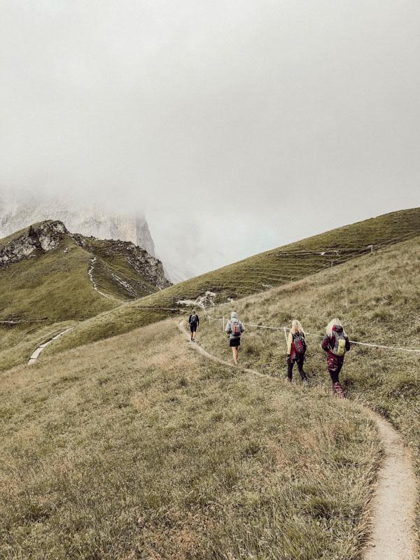 mehrtägige Hüttenwanderung in Südtirol Kreuzjoch