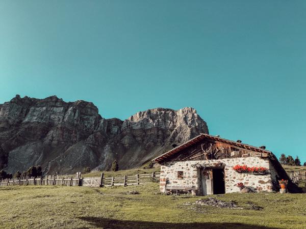 mehrtägige Hüttenwanderung in Südtirol Brogles Alm