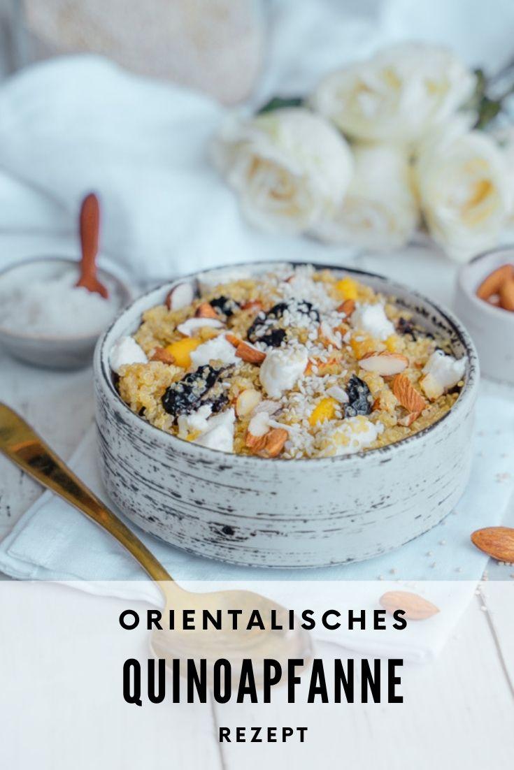 orientalische Gemüsepfanne mit Quinoa