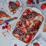 French toast berry bake