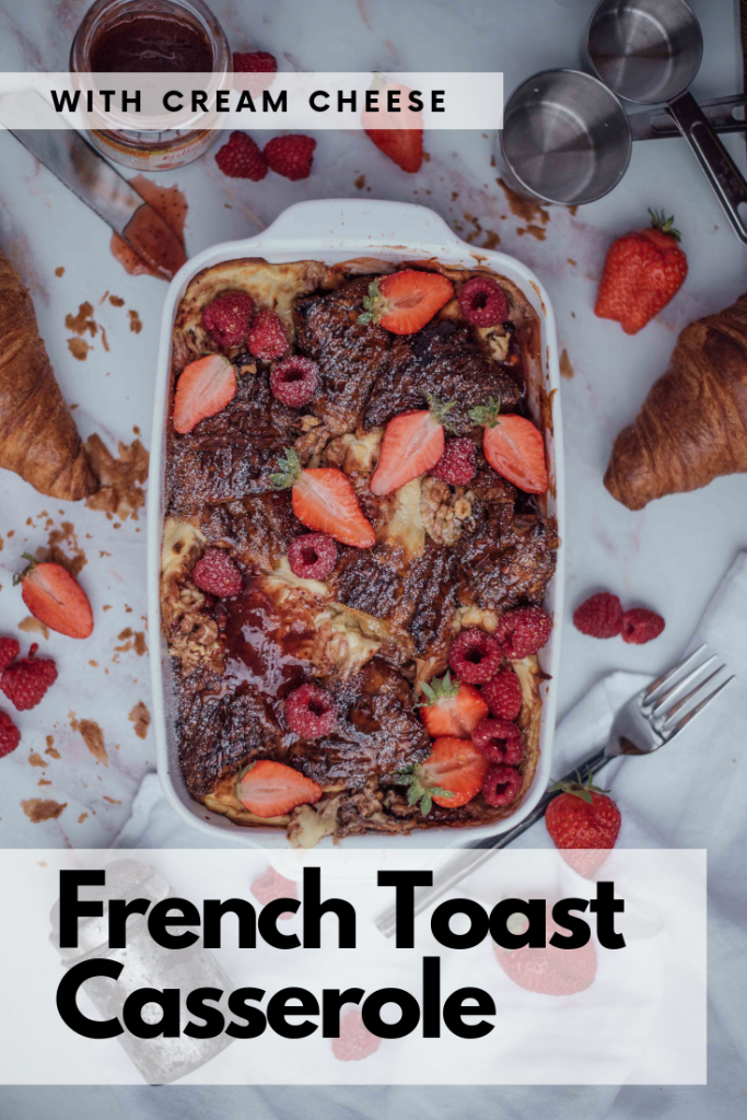 french toast berry casserole
